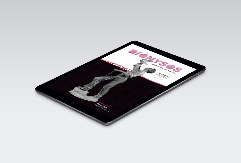 angels pinyol disseny grafic dionysos vinseum 01 e1584965192728 - DIÓNYSOS - Edició i maquetació d'una revista digital