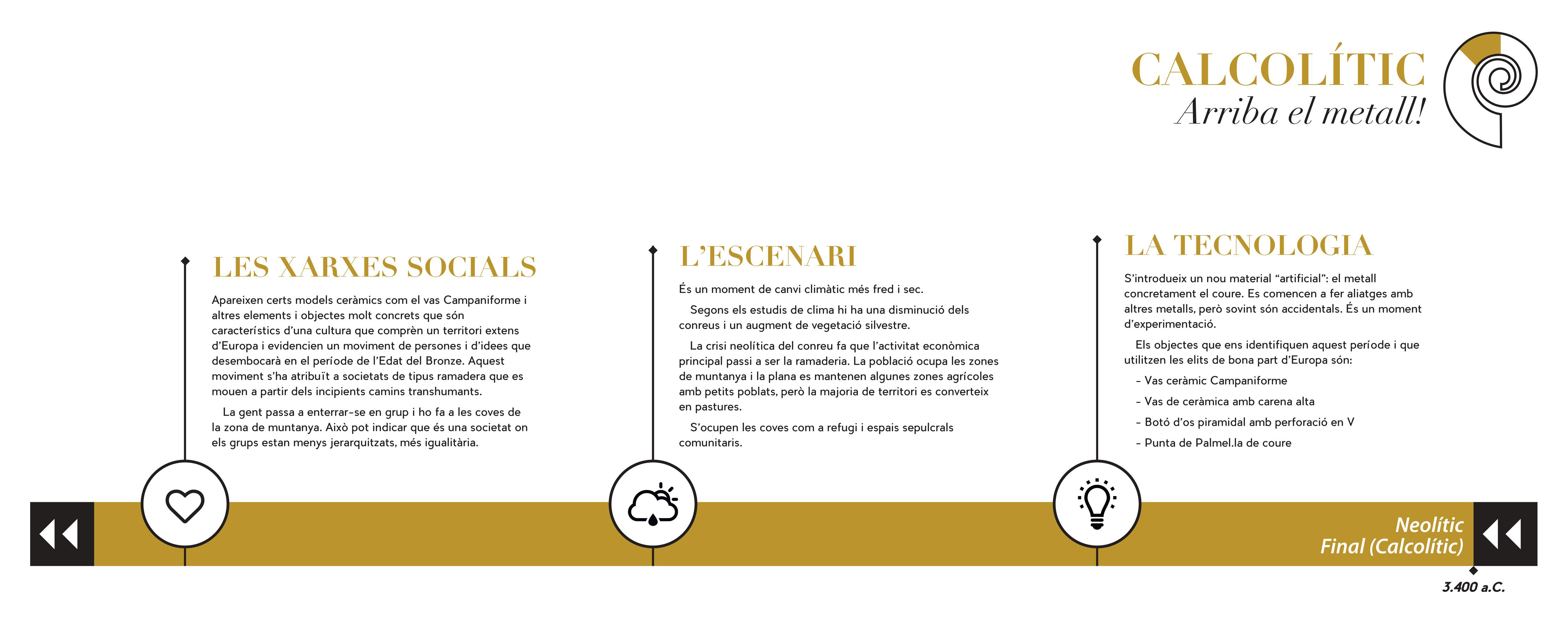 Disseny Grafic Angels Pinyol Calcolitic Abans de la Vinya - ABANS DE LA VINYA - Exposició sobre la història de la Vinya del Penedès