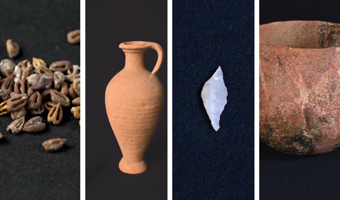 angels pinyol material arqueologic abans vinya - ABANS DE LA VINYA - Exposició sobre la història de la Vinya del Penedès