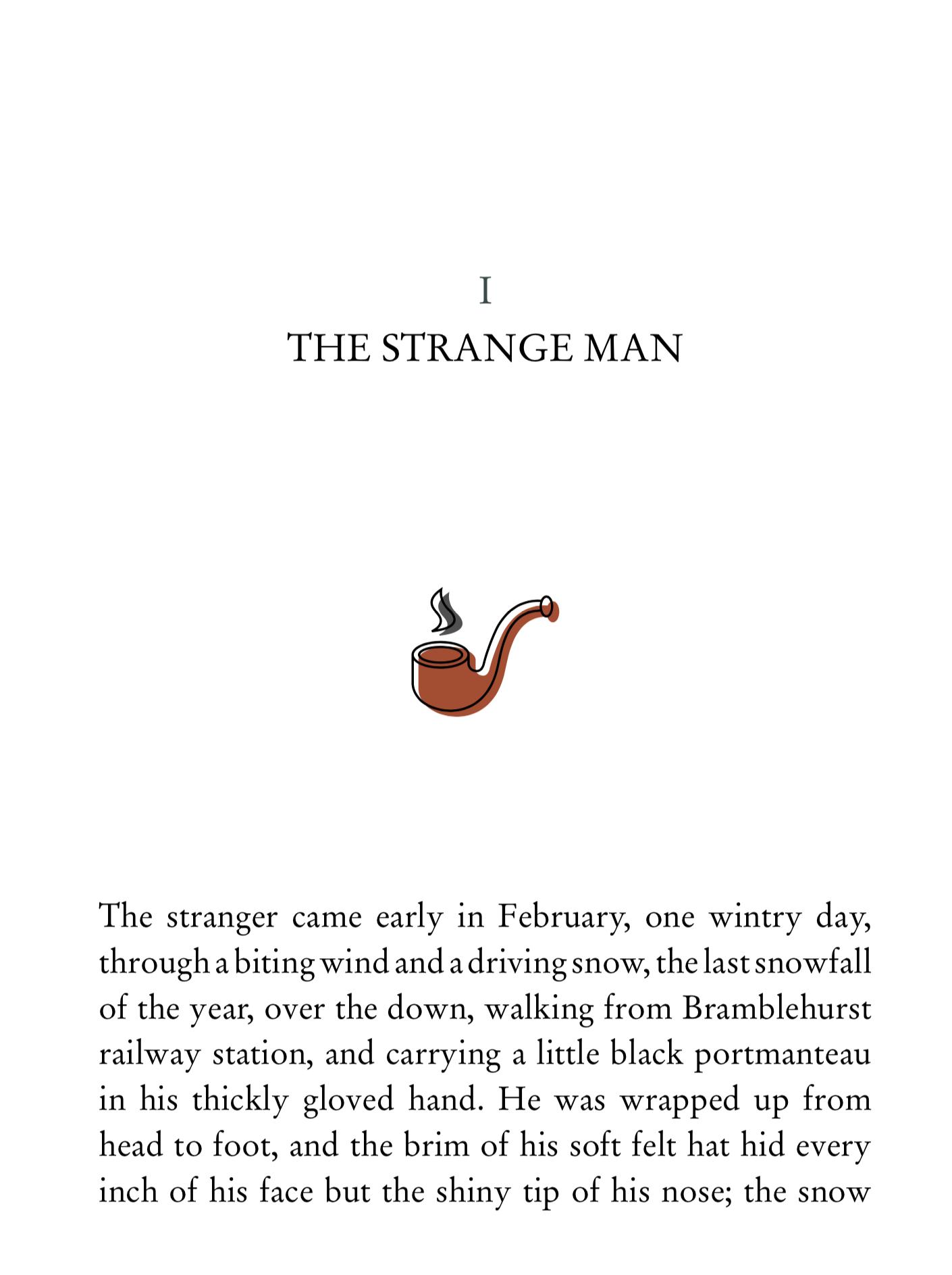 strangeman angelspinyol - THE INVISIBLE MAN - Disseny i maquetació llibre interactiu