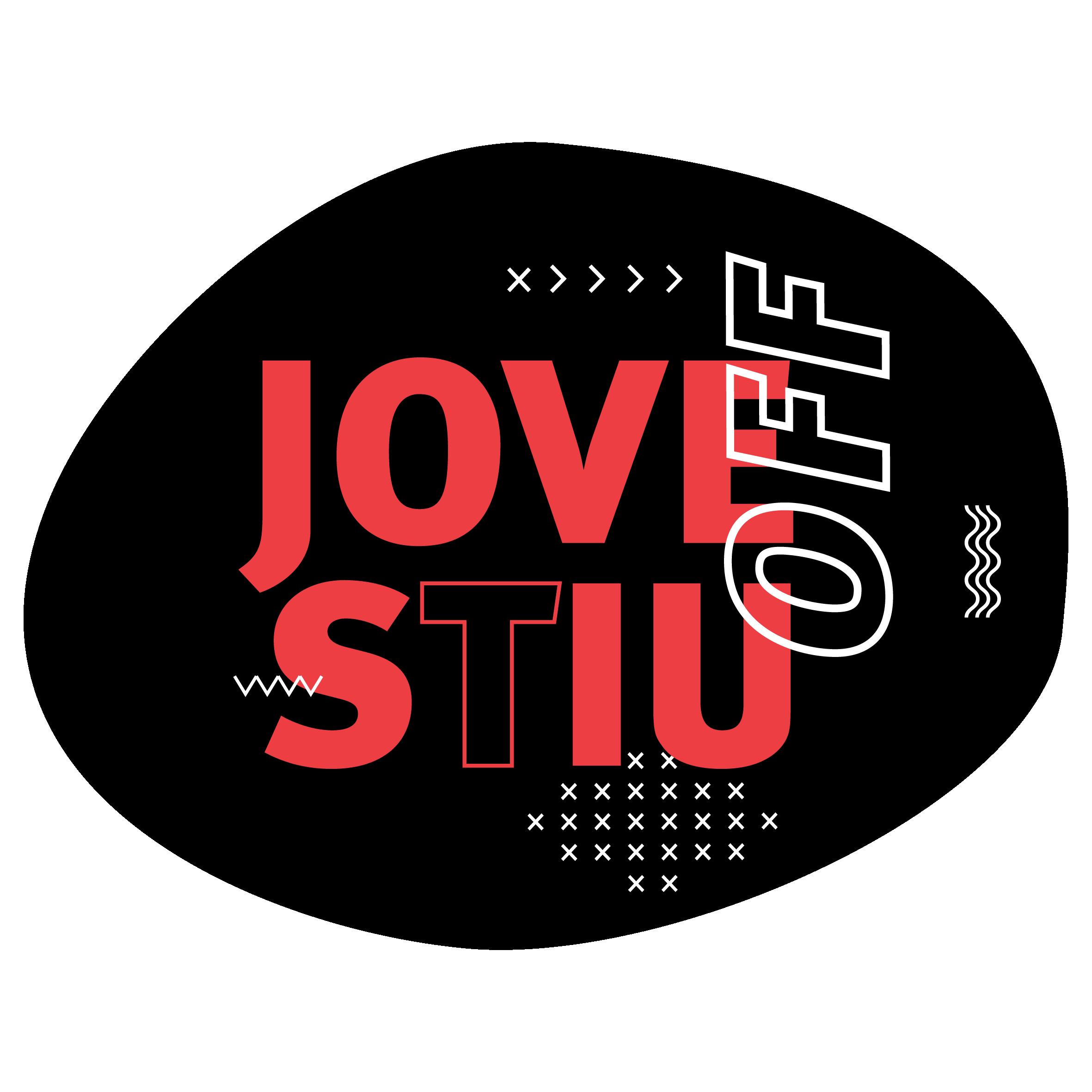 Logo per pantalles - Jovestiu OFF