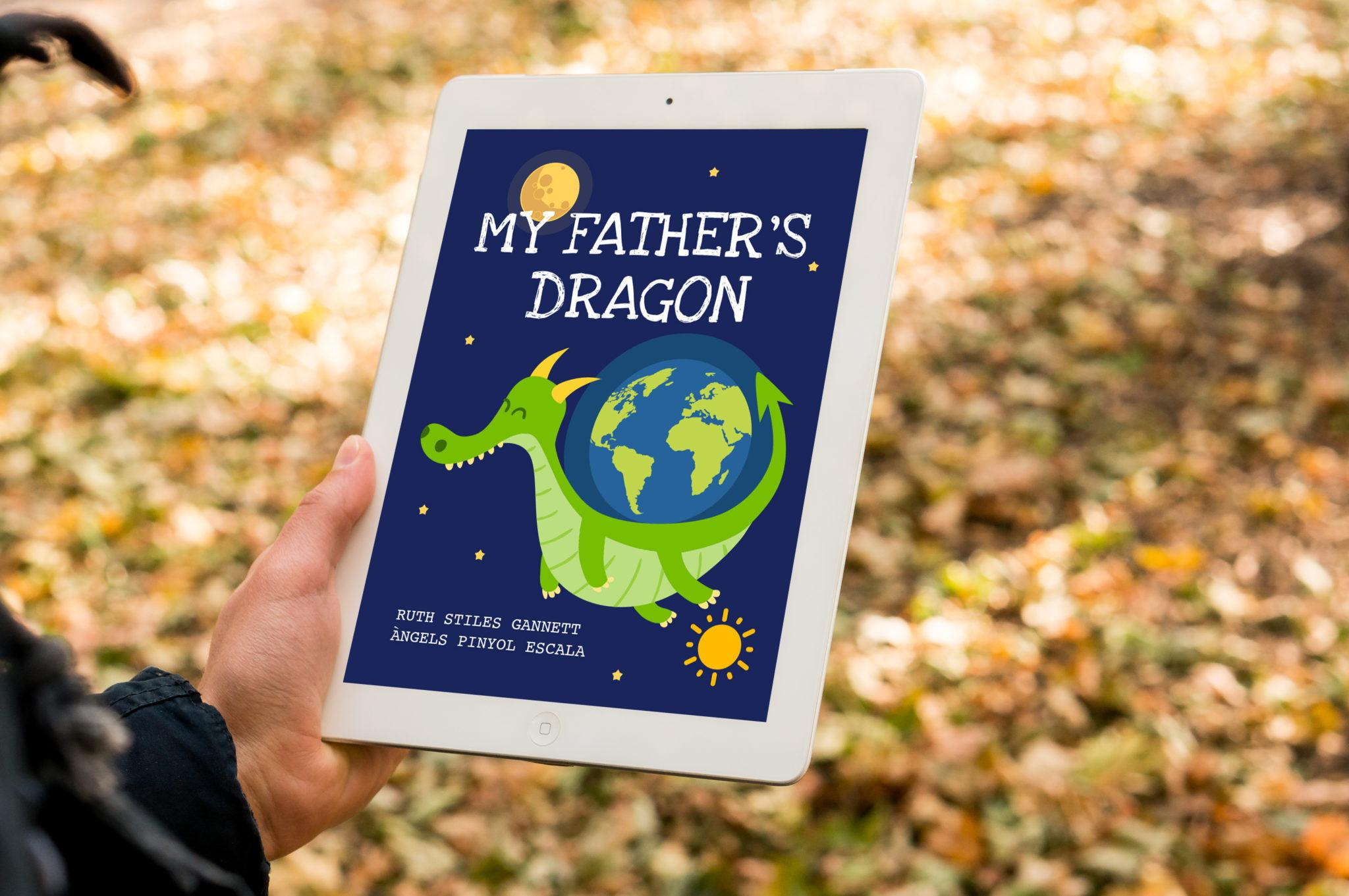 My fathers dragon 00 - MY FATHER'S DRAGON - Llibre infantil interactiu d'un drac del Penedès