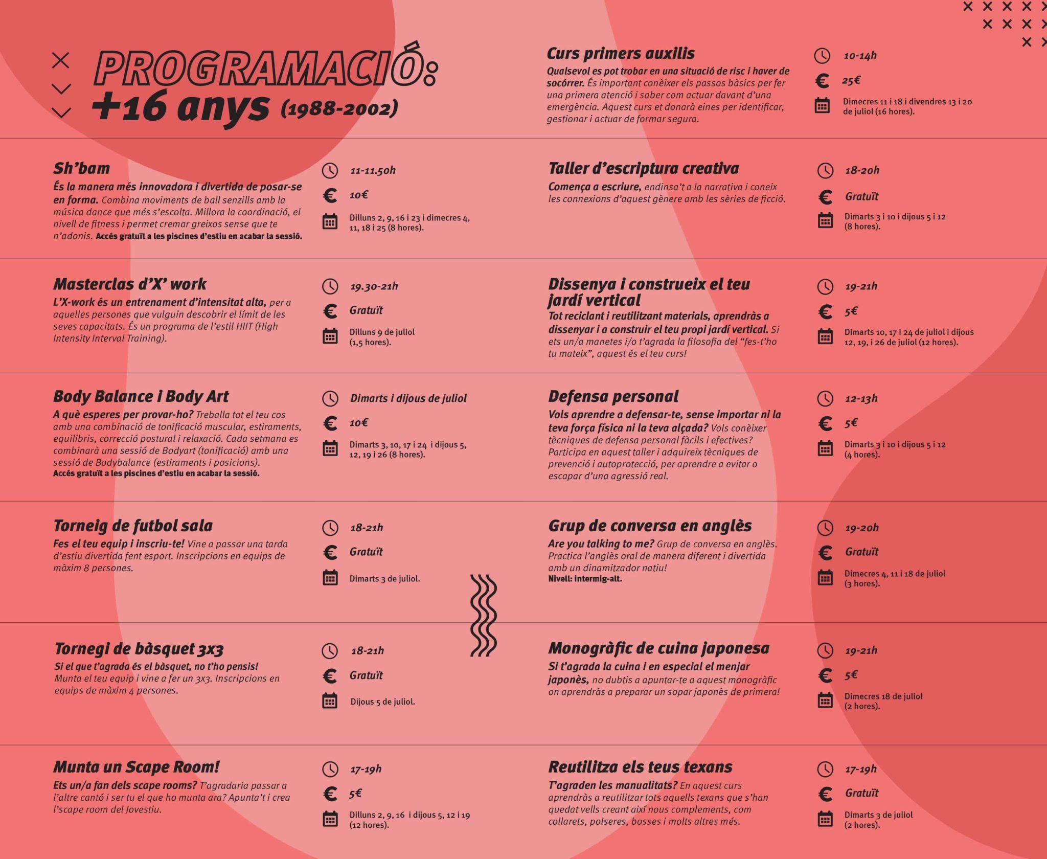 Programacio-Mes-16-Anys-Jovestiu-Disculpi-Studio-Vilafranca-del-Penedes
