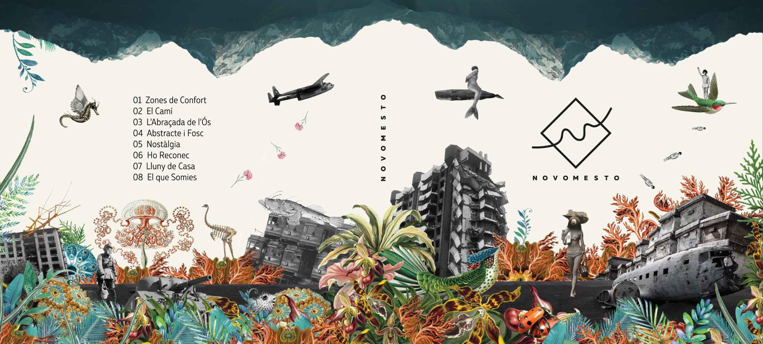 Novomesto Disseny Grafic Art Work Disculpi Studio Angels Pinyol Vilafranca del Penedes War - NOVOMESTO - Art Work i disseny del nou cd del grup