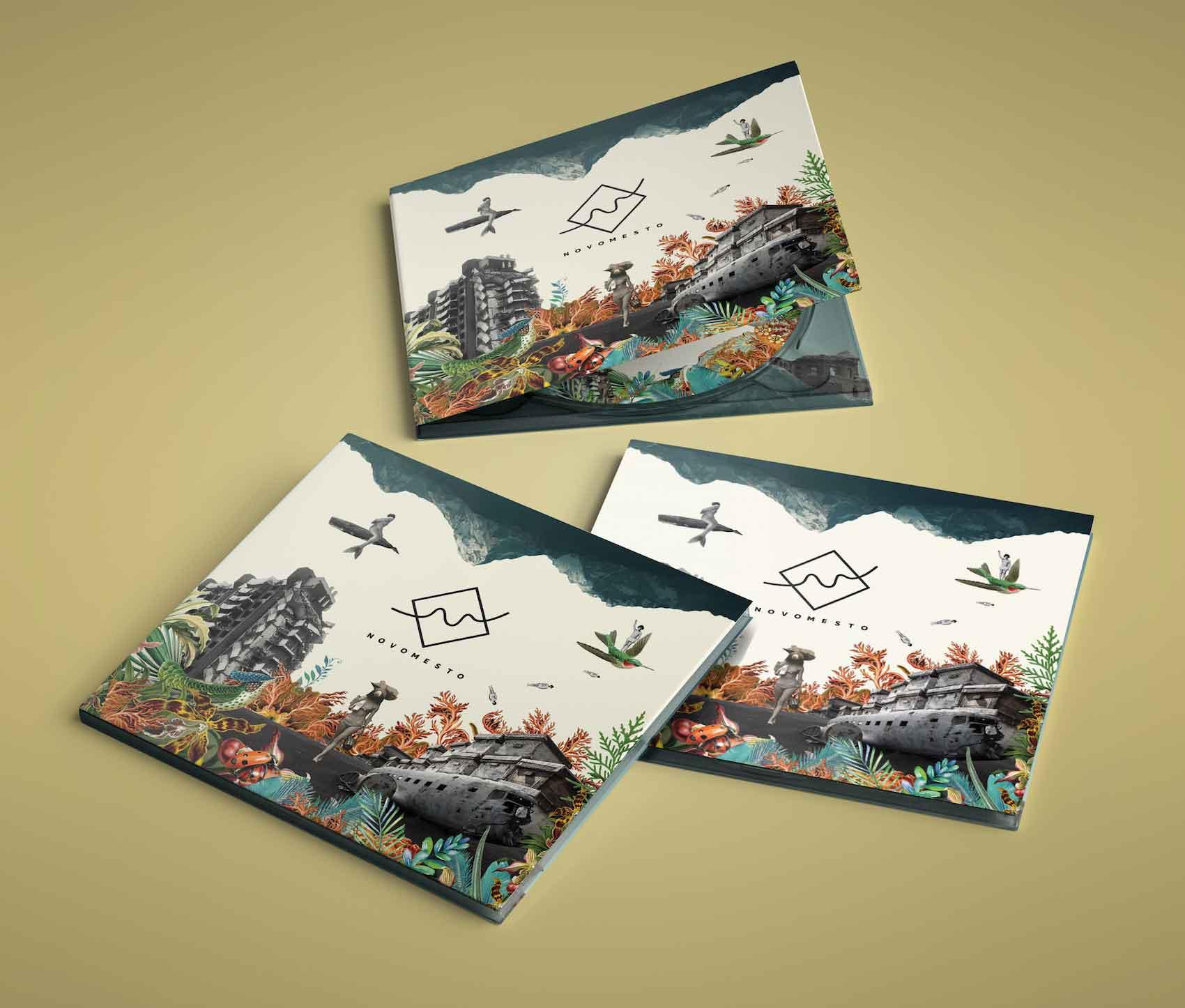 Novomesto Disseny Grafic Art Work Disculpi Studio Angels Pinyol Vilafranca del Penedes - NOVOMESTO - Art Work i disseny del nou cd del grup