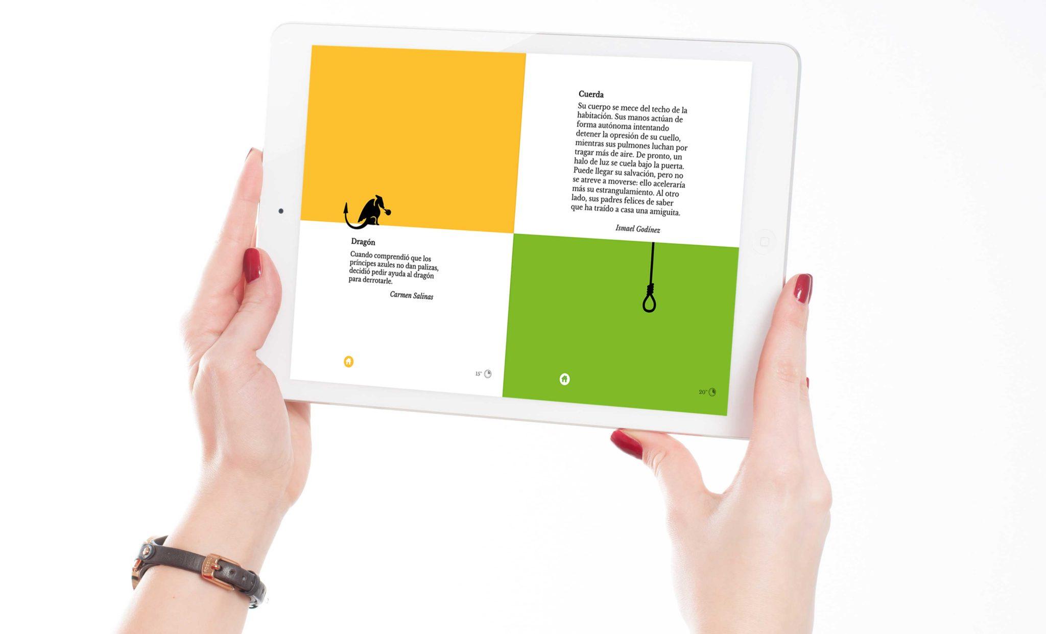 Microcuentos Disculpi Studio Angels Pinyol Digital Books Llibres Vilafranca del Penedes Disseny Grafic - MICROCUENTOS - Disseny i programació del llibre interactiu