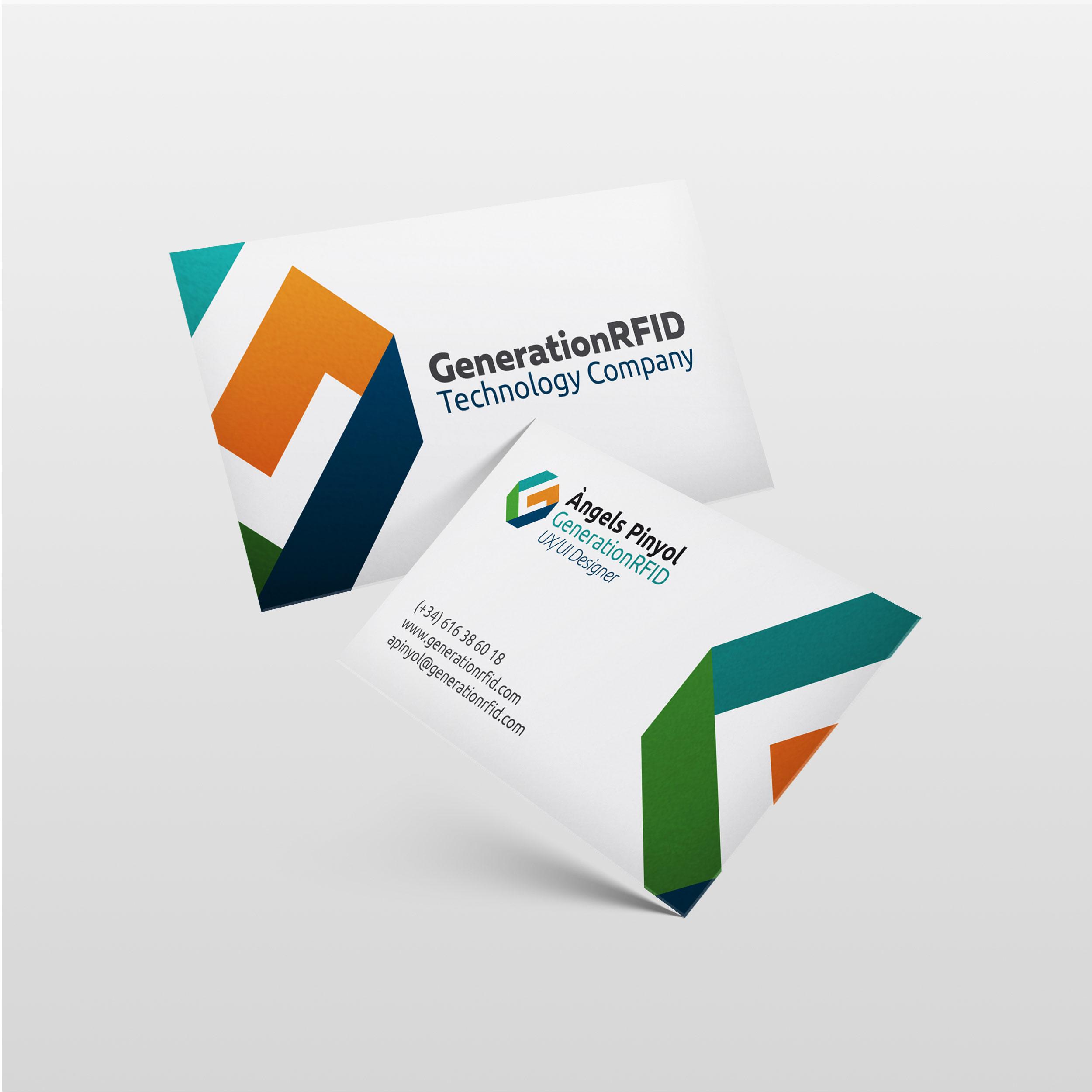 AngelsPinyol GraphicDesign UX UI Designer Reus Vilafranca Penedes - GENERATION - Branding per empresa tecnològica