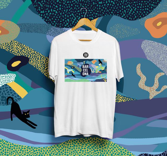 angels pinyol beer cat camiseta - BEERCAT - Il·lustracions i disseny per etiquetes cerveses artesanes