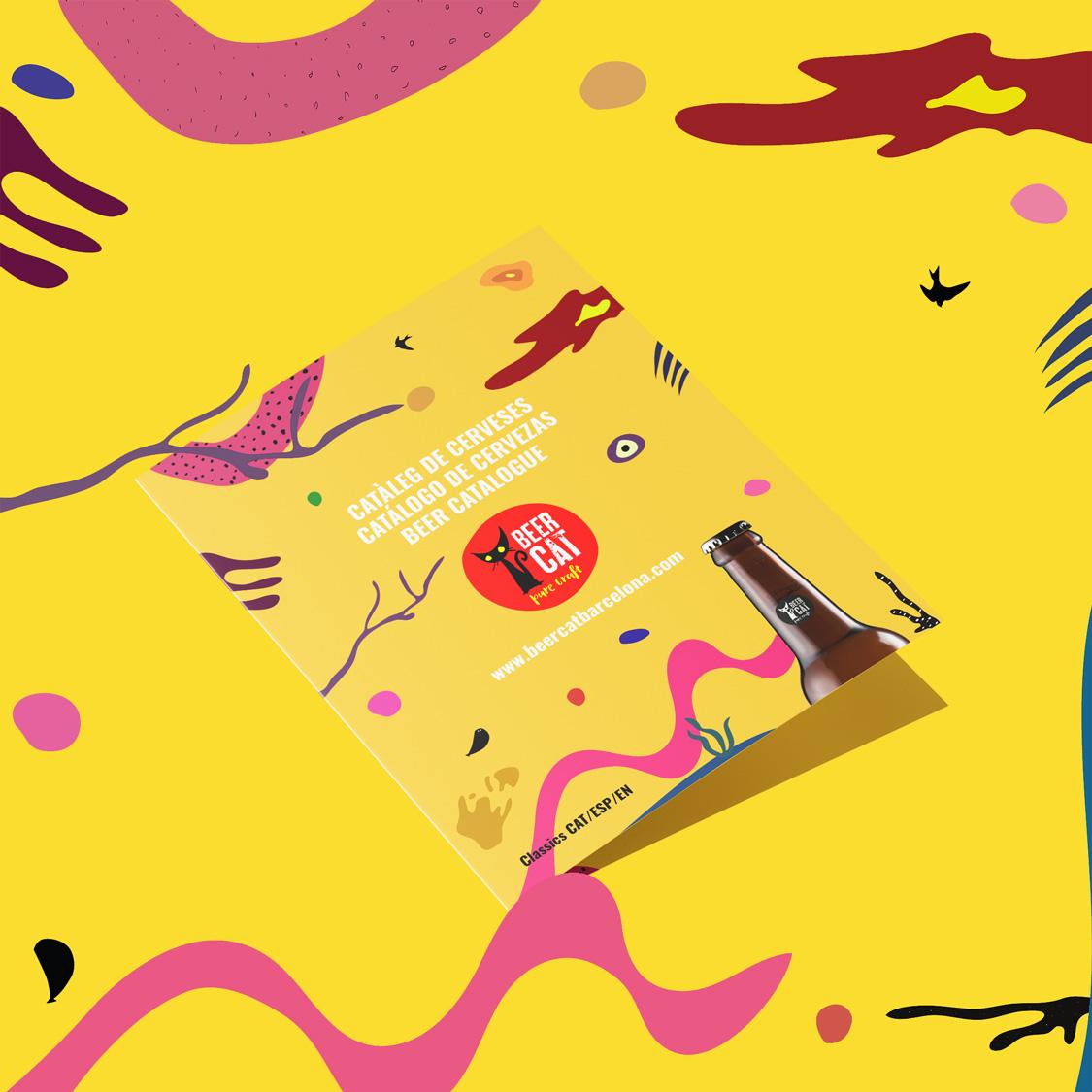 catalougue angelspinyol disseny grafic penedes - BEERCAT - Il·lustracions i disseny per etiquetes cerveses artesanes