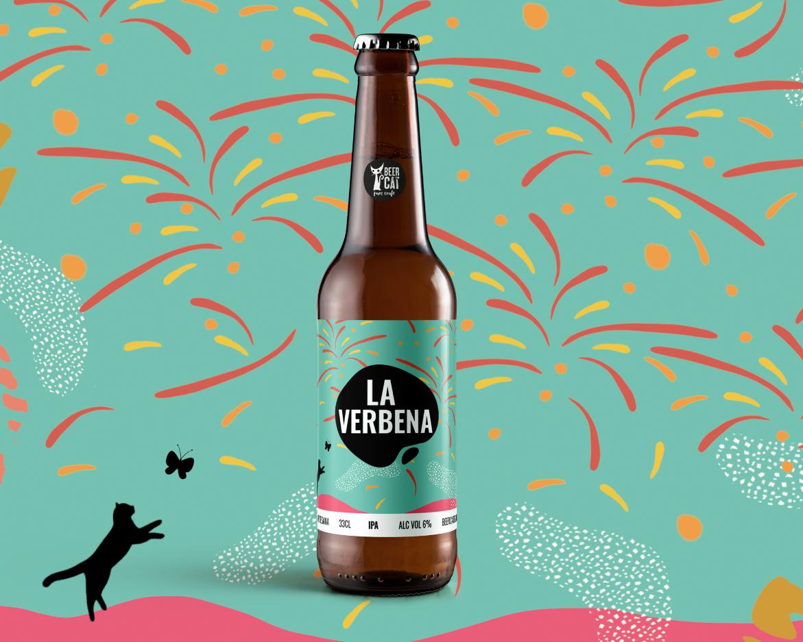 cervesa abeer web packagin design penedes studio verbena angels pinyol disculpi website - BEERCAT - Il·lustracions i disseny per etiquetes cerveses artesanes