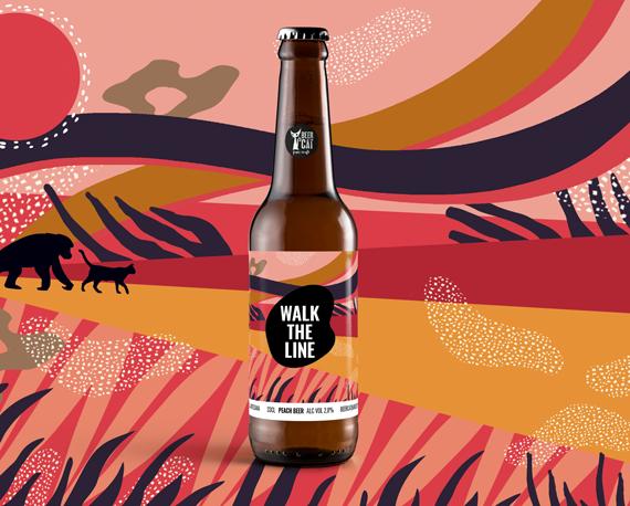 cervesa artesana disseny penedesangelspinyol beercat  - BEERCAT - Il·lustracions i disseny per etiquetes cerveses artesanes