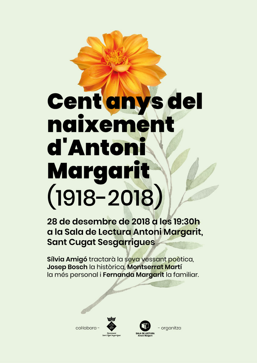 mossen-antoni-margarit-cent-anys-silvia-amigo-poesia-josep-bosch-historia-sant-cugat-sesgarrigues-penedes