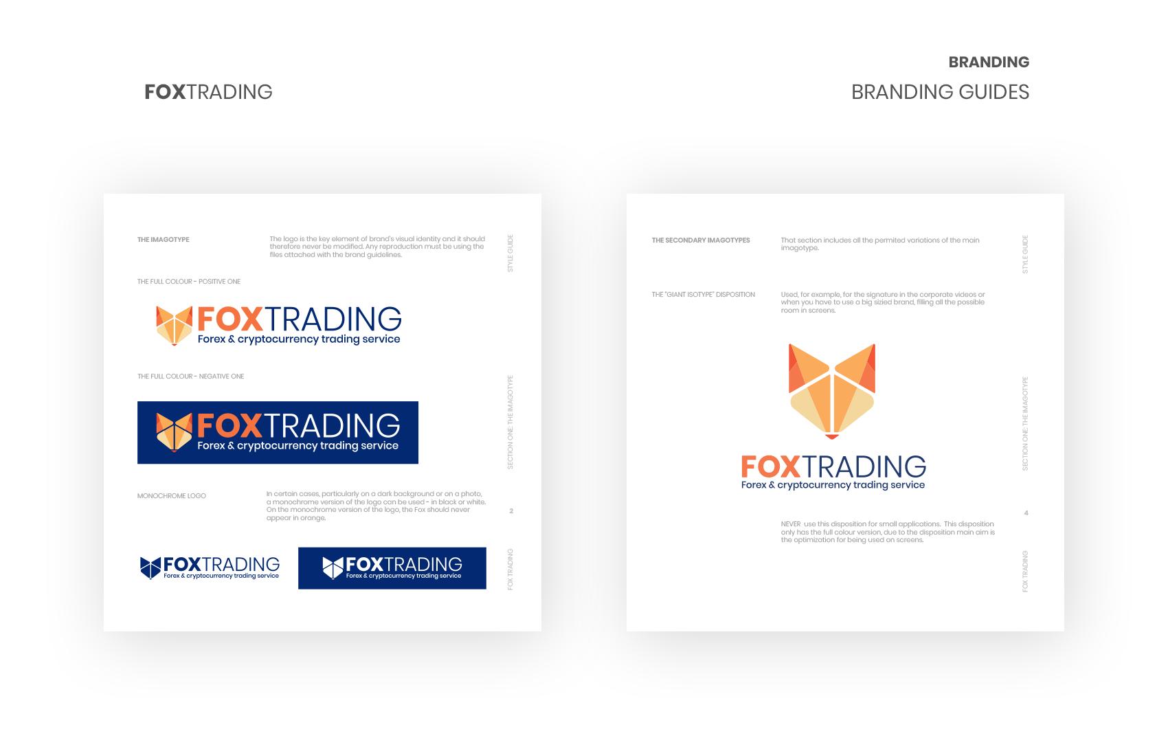 disculpi fox trading rebranding crypto vilafranca penedes disseny grafic web logo logotipe - FOX TRADING - Disseny Gràfic i web de l'empresa Penedesenca