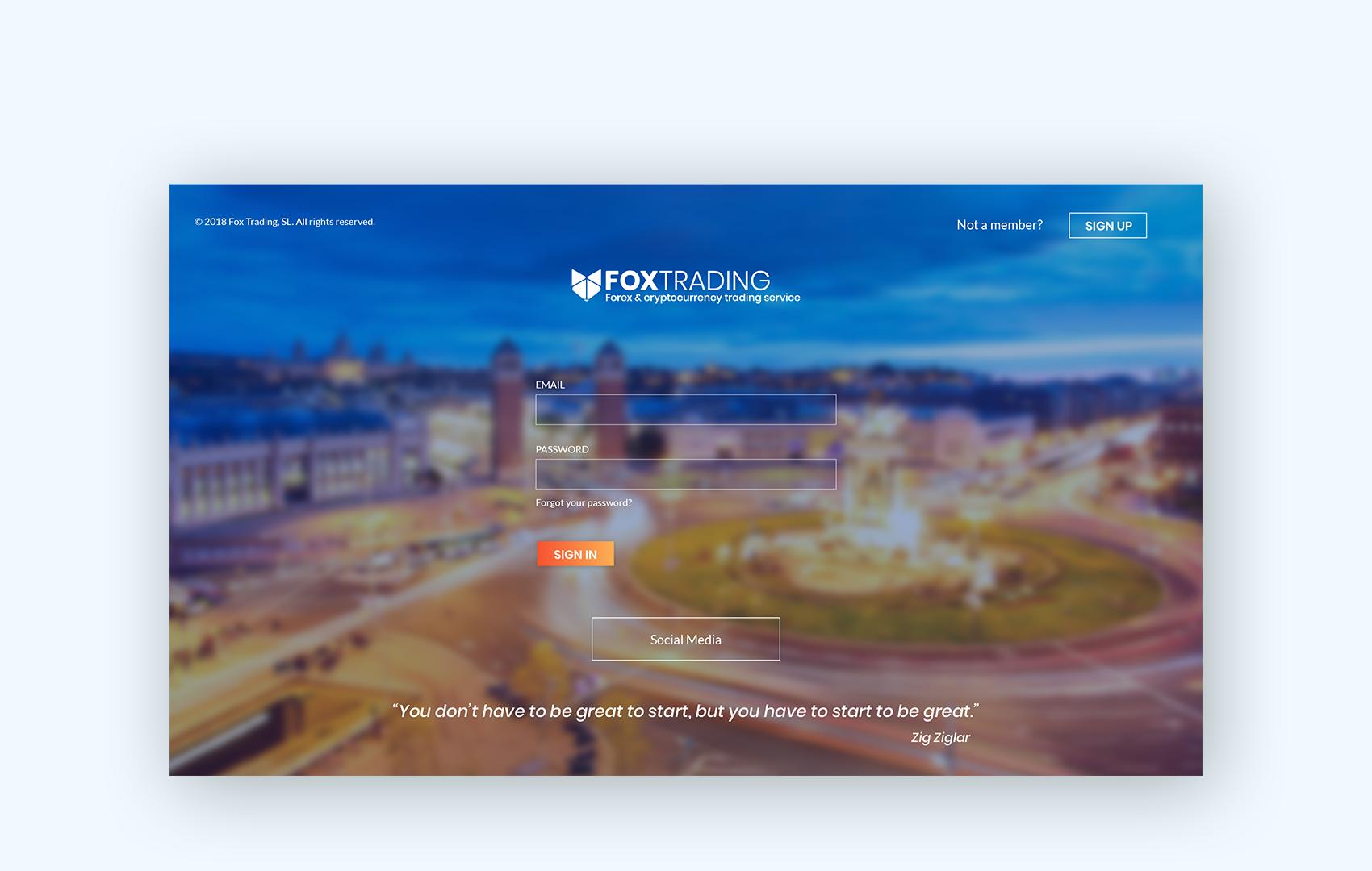 disculpi fox trading rebranding crypto vilafranca penedes disseny grafic web - FOX TRADING - Disseny Gràfic i web de l'empresa Penedesenca
