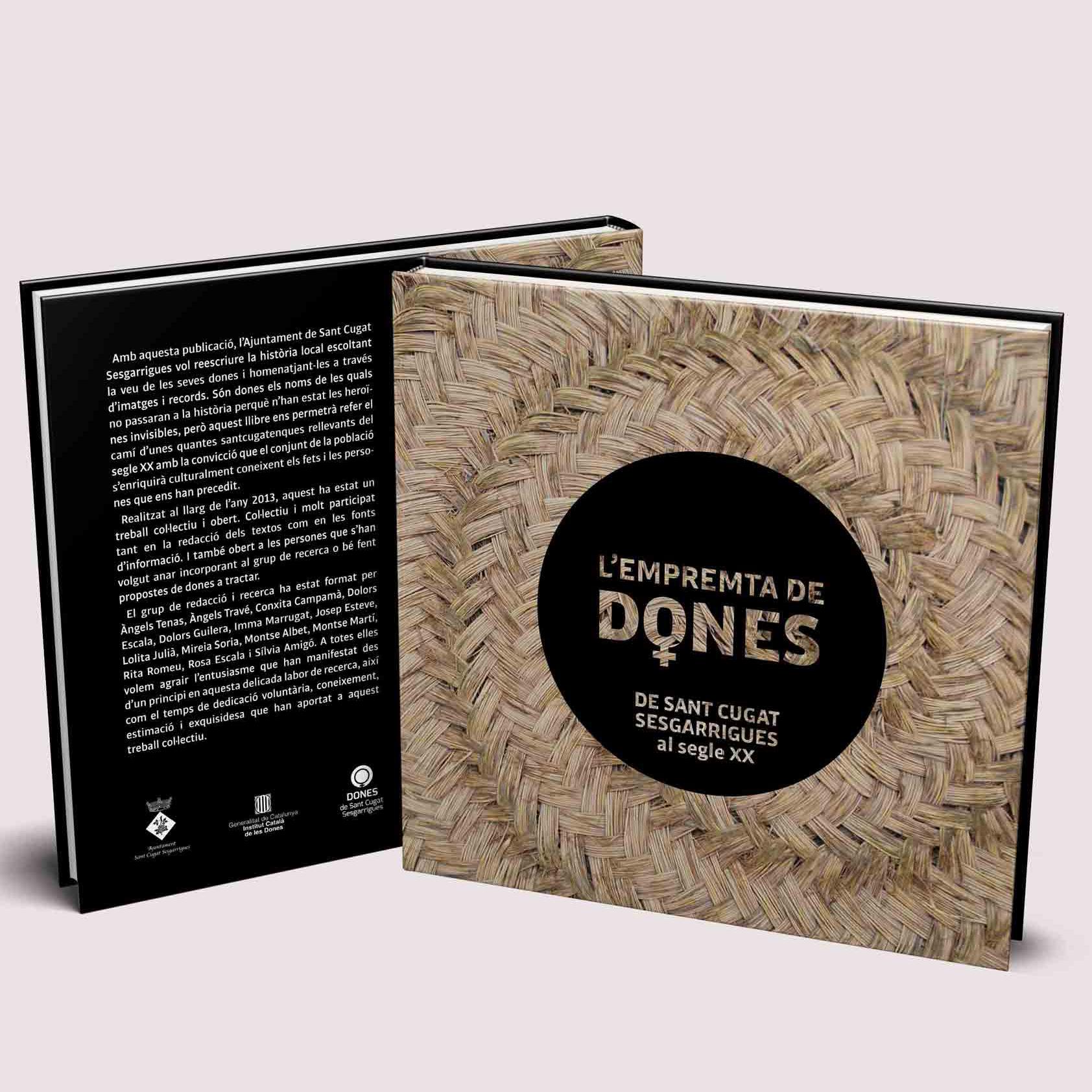Disseny Llibre L Empremta de Dones Disculpi Studio Angels Pinyol Books Design 1 - Projectes – Àngels Pinyol - Disseny Gràfic i Comunicació Visual