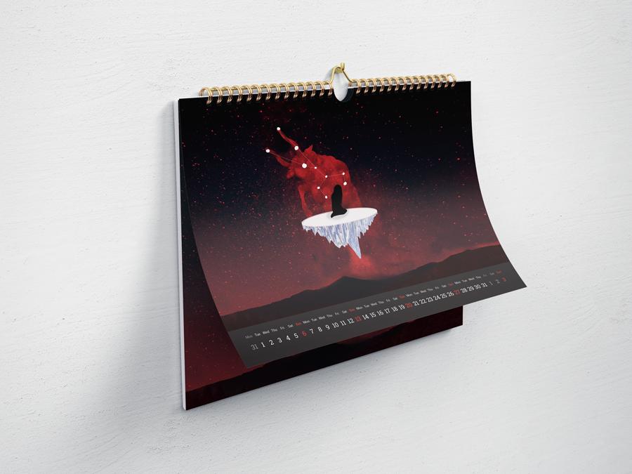 """calendari ruda colaboracio angels pinyol feminista ruda disseny vilafranca penedes grafica - CALENDARI DE LA RUDA - Disseny de la """"Violació d'Europa"""" pel mes de setembre Vilafranca del Penedès"""