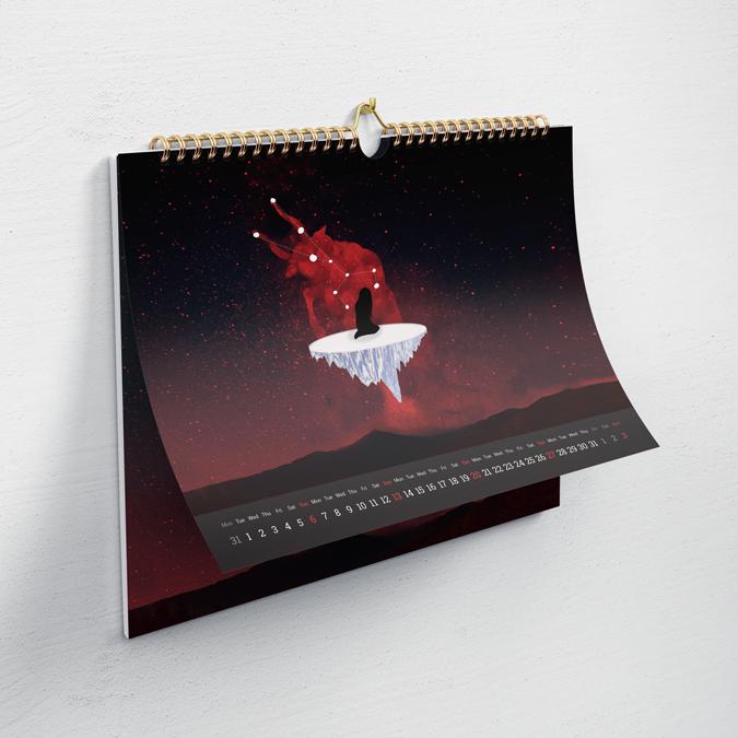 llegendaries calendari ruda colaboracio angels pinyol feminista ruda disseny vilafranca penedes grafica - Projectes – Àngels Pinyol - Disseny Gràfic i Comunicació Visual