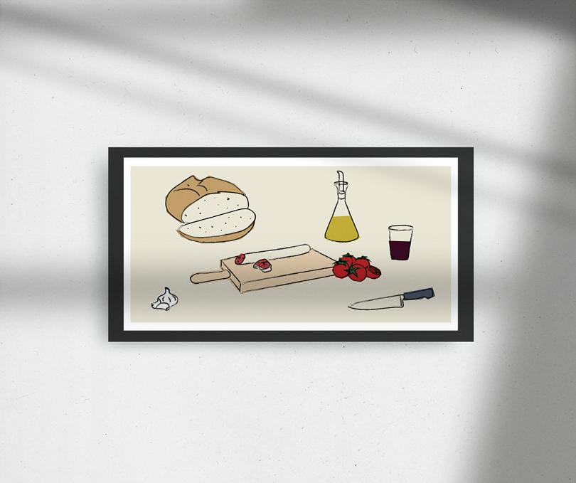 angelspinyol illustration pa tomaquet mediterranean food penedes - IL·LUSTRACIONS ÀNGELS PINYOL - VENTA - ENCÀRRECS