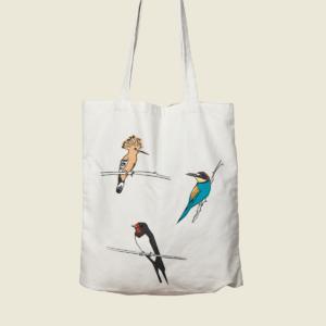 angels-pinyol-tote-bag-estampak-birds-colorful-customize-oreneta-puput-abellerol-